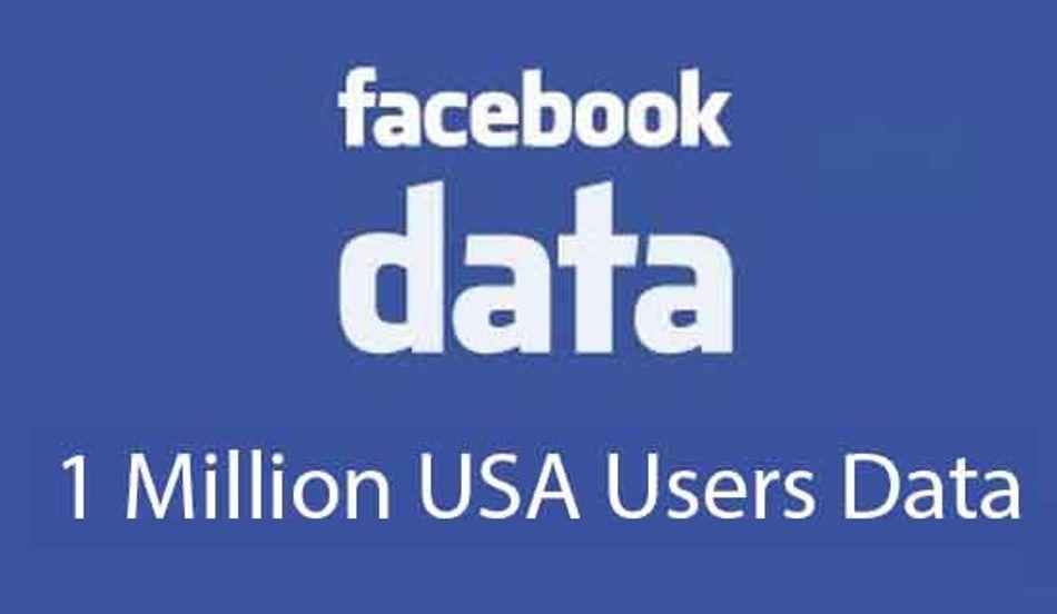 USA Facebook User Database [1 Million]